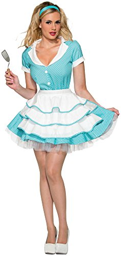 Forum Novelties Women's 50's Flirty Housewife Costume