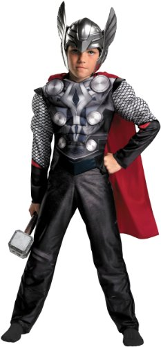 Thor Movie - Thor Muscle Child Costume Size Small (4/6)