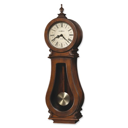 Arendal Cherry Finish Quartz Wall Clock
