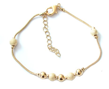 Small Gold Charms Anklet/Ankle Bracelet