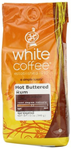 White House Roasted Coffee Hot Buttered Rum Ground 12-Ounce Bags Pack of 3B001D1YNSU