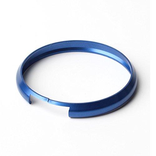 MINI COOPER Trim Ring - SODIAL(R)Car Keyring Trim Ring Rim for BMW MINI Roadster Cooper Clubman S KEY B Blue (Mini Cooper Car Parts compare prices)