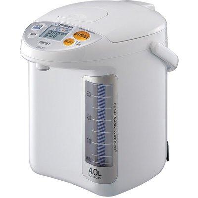 Zojirushi CD-LFC40 Panorama Window Micom Water Boiler and Warmer, 135 oz/4.0 L, White (Hot Water Boiler Dispenser compare prices)