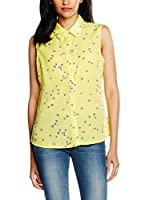 ZZ_TrakaBarraka Camisa Mujer (Amarillo)