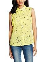 Trakabarraka Camisa Mujer Abedul (Amarillo)