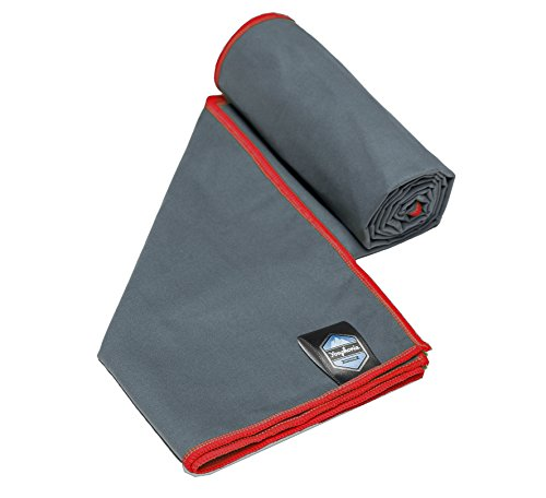youphoria-sport-microfiber-travel-towel-and-sports-towels-gray-red-28-x-56-free-mesh-carry-bag-quick