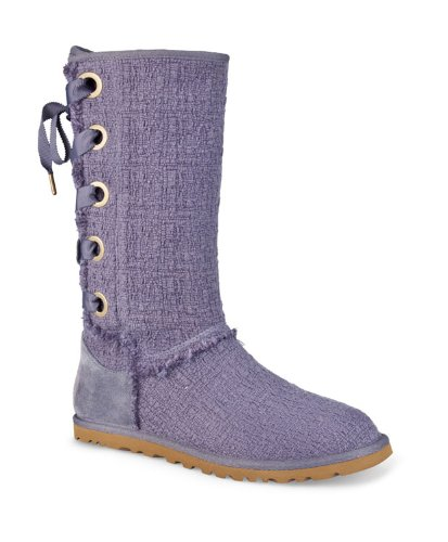 d9798d78fcc UGG Australia Womens Heirloom Lace Boot Night Size 5 | Hot Winter Shoes
