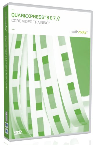 QuarkXpress 8 & 7 Core Video Training (Mac/PC DVD)