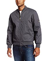 Dickies Occupational Workwear JTC2CH Polyester/ Cotton Insulated Team Jacket with Slash Front Pockets, Charcoal