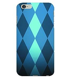 ColourCraft Diamond Pattern Back Case Cover for APPLE IPHONE 6S PLUS