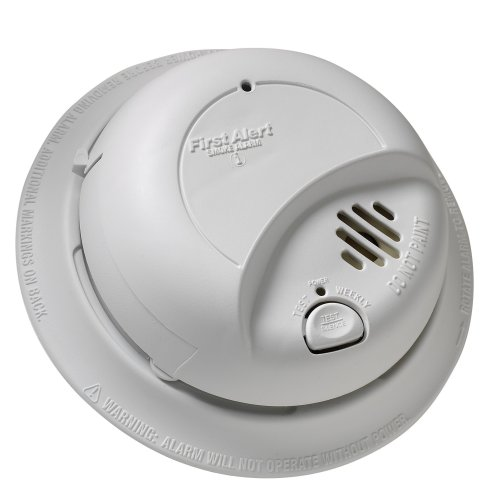 Brk Brands 9120B Hardwired Smoke Alarm With Battery Backup, Single Individual From Contractor Pack