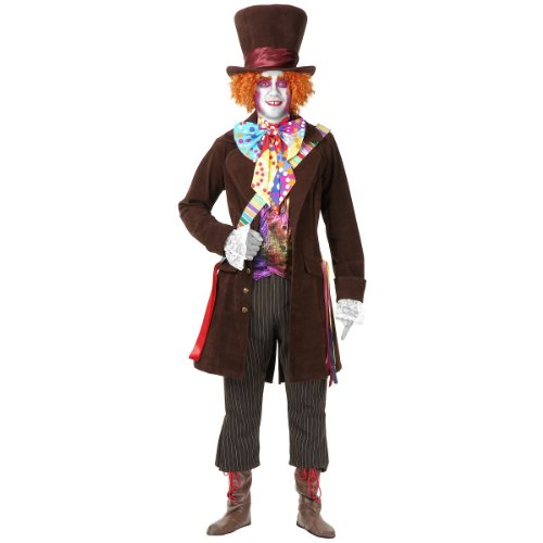 Electric Mad Hatter with Pants Costume - X-Small - Chest Size 36
