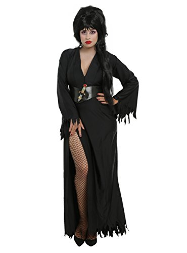 [Elvira Costume Plus Size] (Elvira Plus Size Costumes)