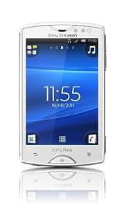 """Sony Xperia Mini - Smartphone libre (pantalla táctil de 3"""" 320 x 480, cámara 5 Mp, 320 MB, procesador de 1 GHz, 512 MB de RAM, S.O. Android 2.3), blanco"""