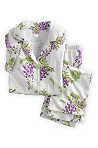 BedHead Wisteria Stretch Crop USA Made Pajama Set