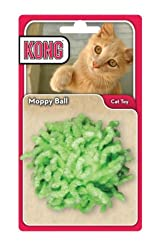 Kong MOPPY BALL Cat and Kitten Plush Rattle Wrestle Toy (CP4)
