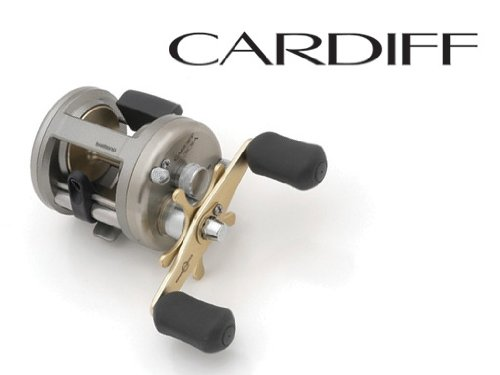 Shimano Cardiff Baitcasting Reel 4+1 Ball Bearings (5.8:1), 14 Pounds/180 Yards, Right Hand