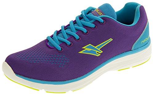 Gola Nebula Ala696 Yoga Courir Baskets Fitness Femmes EU 41 Violet Et Bleu