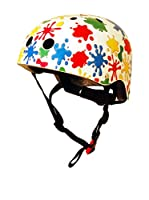 Kiddimoto Casco de Ciclismo Splatz (Multicolor)