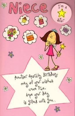 Happy Birthday Niece, Birthday Greetings Card