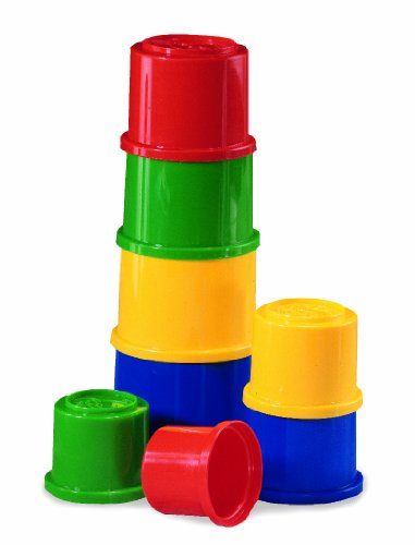 Mattel 75601-0 Fisher-Price - Cubos de construcción, moldes para arena con diseño de animales (a partir de 18 meses)