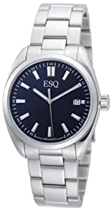 ESQ by Movado Men's 07301379 Sport Classic Stainless-Steel Blue Round Dial Watch