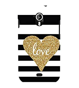 EPICCASE Love patterns Mobile Back Case Cover For Micromax Canvas 2 A110 (Designer Case)