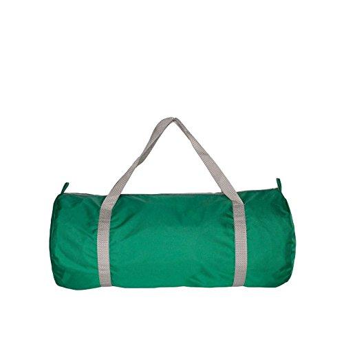 american-apparel-sac-de-sport-en-nylon-taille-unique-vert-emeraude-argent