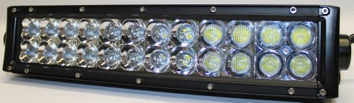 "12"" 72Watt Led Light Bar, 3D Optics, By Luxwurx"