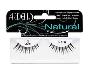Ardell Fashion Lashes Pair - 102 Demi, Black (Pack of 4)