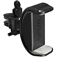 VAVA Car Phone Mount for Air Vent with Cable Hooks (Black)
