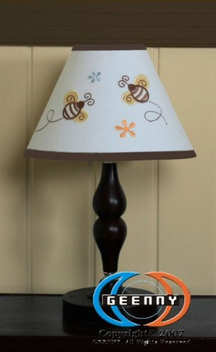 Geenny Lamp Shade For Boutique Bumble Bee 13 Pcs Crib Bedding Set