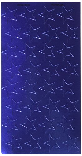 "Eureka Presto-Stick(R) Foil Stars, 1/2"", Blue, Pack Of 250"