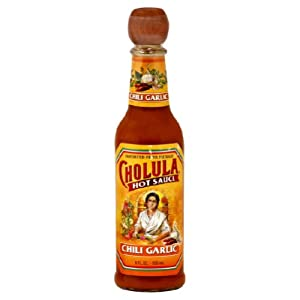 Cholula Sauce Hot Chili Garlic 5-ounce 12 Pack from Cholula