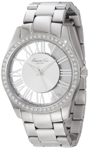 Kenneth Cole New York Women's KC4851 Transparency Silver Dial Transparency Analog Watch