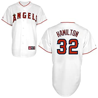 Buy Josh Hamilton Los Angeles Angels Home Replica Jersey by Majestic by Majestic