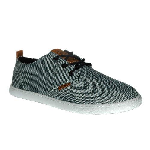 Djinns - LOW LAU EVIL HOUNDSTOOTH - Sneaker - black-46