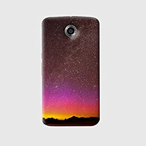 The Fappy Store sky full of stars stylish printed hard back case for google nexus 6