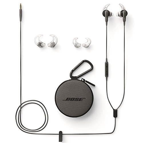 017817699280 - Bose SoundSport in-ear headphones - Apple devices Charcoal carousel main 3