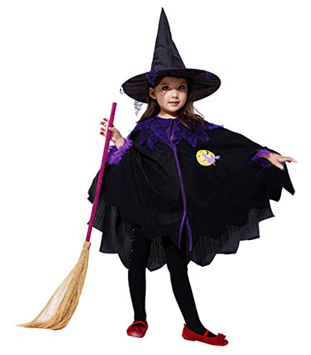 Eyekepper Cosplay Fairytale Witch Costume Little Girls Age 2-6 Years