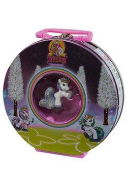 simba   filly, unicornwith box of