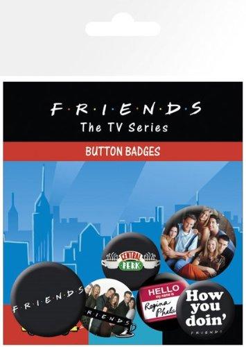 GB eye, Friends Personajes, Pack de Chapas