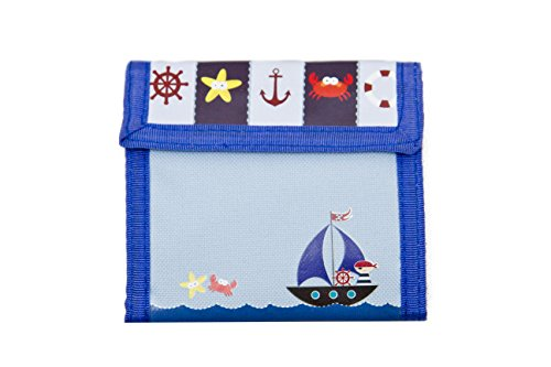 Aquarella Kids Sailor Wallet, Blue - 1