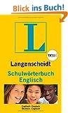 Langenscheidt Schulw�rterbuch Englisch TING - Buch (TING-Ausgabe): Englisch-Deutsch/Deutsch-Englisch (Langenscheidt Schulw�rterb�cher)