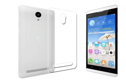 ECellStreet Exclusive Transparent Soft Back Case Cover Back Cover for Vivo Y28 Y 28  available at amazon for Rs.190