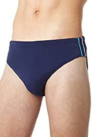 Blue Harbour Piped Swim Briefs