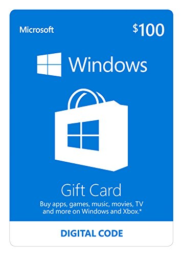 Microsoft Windows Store Gift Card - $100 Value [Online Code] (Windows Gift Card compare prices)