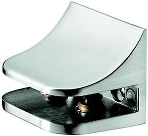 Estante de Vidrio Soportes del Estante Apoya Aluminio de Soporte de Estante Bandeja Diseño Pedalier o Acabado de Acero Inoxidable marca HWTOOLS