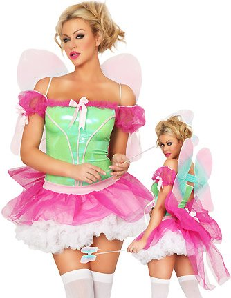 Roma Costume Women's Rainbow Sprite Fairy Costumes For Women