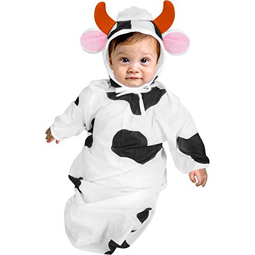 Cow Deluxe Infant Bunting Halloween Costume Size 0-9 mo.